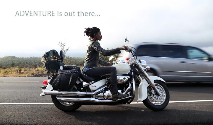 Simple words can heal; Motorbike Trip